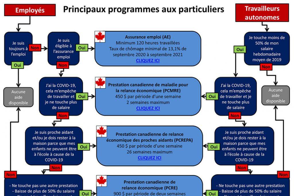 COVID-19 Programmes aux particuliers janvier 2021