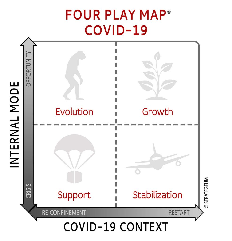 Four Play Map COVID-19