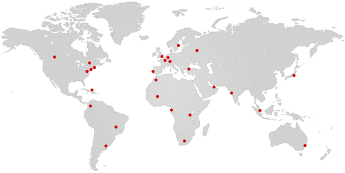 Carte monde Strategeum